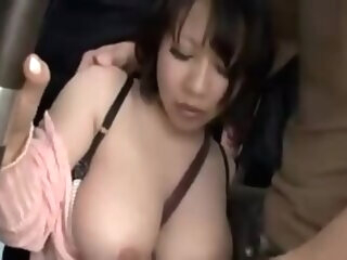 Girl that has been groping in the bus .. asian asian