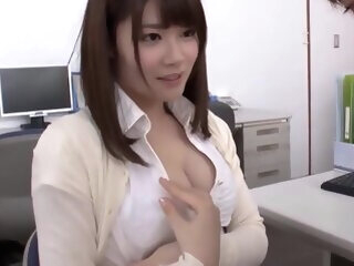 Female teacher and student cumshot asian
