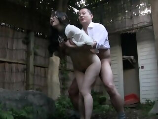 Japanese Mature outdoor japanese asian
